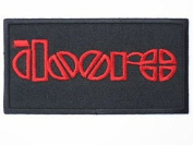 """THE DOORS Logo Iron On Sew On Embroidered Patch 4""""/10.4cm x 2.1""""/5.4cm BY MNC SHOP"""