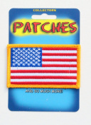 Eagle Emblems U.S.A. Flag Patch