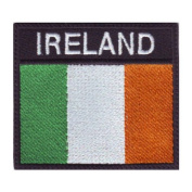 Ireland Badge Flag Embroidered Sew On Patch