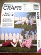 MCCALLS CRAFTS 6369 SEW GRACEFUL POKEY AND PAULINE PIGLET 48cm WITH CLOTHES