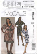 McCalls Pattern M5579 Misses and Womens Dresses Size RR