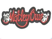 "MOTLEY CRUE Logo Iron On Embrodered Patch 4.6""/12.7cm x 1.2""/3.2cm BY MNC SHOP"