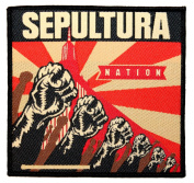 Sepultura Nation Brazilian Thrash Metal Band Sew On Battle Jacket Applique Patch