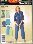 Simplicity 3824 Casual Easy Wardrobe
