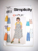Simplicity Dress & Blouse Pattern #8048 Size AA 3,4,5,6