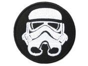 """STAR WARS Imperial Storm Trooper Iron On Sew On Embroidered Patch 2.9""""7.3cm x 2.9""""/7.3cm By MNC Shop"""