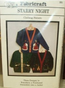 Starry Night - Sweatshirt Jacket Applique Patterns