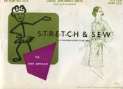 Stretch & Sew Pattern 1575 ~ Ladies' Shirtwaist Dress