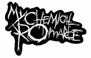 My Chemical Romance Music Band Logo Embroidered Iron Patches/siamD.D.