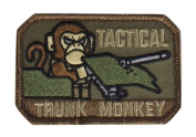 """Mil-Spec Monkey """"Tactical Trunk Monkey hook and loop Patch - Forest"""