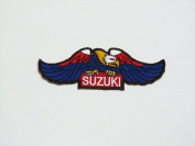 Suzuki Eagle Wing Brand of Motorsport Car Racing Iron on Patch Great Gift for Men and Women/ramakian
