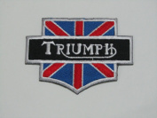 Triumph Brand of Motorcycle Iron on Patch Great Gift for Men and Women/ramakian