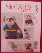 McCall's Crafts M6862 Pet Clothes and Costumes