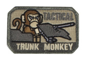 "Mil-Spec Monkey ""Tactical Trunk Monkey hook and loop Patch - ACU"