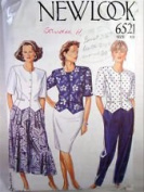 NEW LOOK Pattern #6521 SIZE