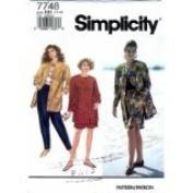 Simplicity Pattern #7748 SIZE