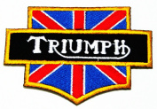Triumph Brand of Motor Racing Iron on Patch Great Gift for Men and Women/ramakian