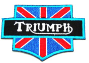 Triumph II Brand of Motor Racing Iron on Patch Great Gift for Men and Women/ramakian