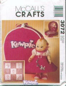 McCall's 3072 - KEWPIE DOLL CLOTHES AND ACCESSORIES - Patterns