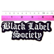 Black Label Society Band patch Vest Jacket Sew Embroidered Iron On Patch Great gift For men and woman by KLB TRADE Badge Sign
