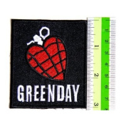 GREEN DAY Heat Grenade Punk Rock Band Jacket t-shirt Embroidered Iron On Patch Great gift For men and woman by KLB TRADE