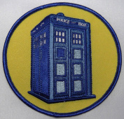 DOCTOR WHO British TV Series 10cm Embroidered Tardis PATCH