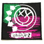 BlinkII 182 Rock Mosic Band Logo Iron on Patch Great Gift for Men and woman by KLB TRADE