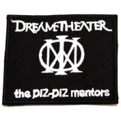 Dream theatre rock music band Embroidered Iron On / Sew On Patch