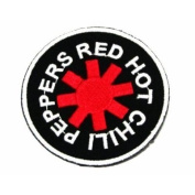 Red Hot Chilli Peppers Rock Music Band Logo III Embroidered Iron on Patches