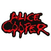 Alice Cooper Music Rock Band Biker Clothing Jacket Shirt Iron on Patch