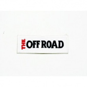 The off road Iron on patch great gift for Men and woman by KLB TRADE