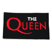 The Queen Rock Music Band Logo Iron on Patch Great Gift for Men and woman by KLB TRADE