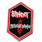 slipknot hardcore rock music band logo Iron SEW Patch
