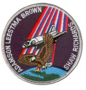 STS-28 (COLUMBIA) MISSION PATCH 10cm
