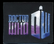 Doctor Who New Logo Iron on Patch