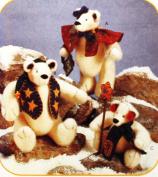 McCall's Crafts Snow Bearies Polar Bears Sewing Pattern #8389