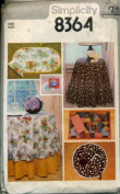 Simplicity Tablecloths, Napkins and Reversible Mats and Coasters Pattern