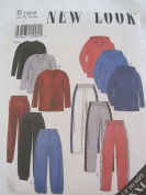 New Look Pattern 6784 Athletic Tops and Pants Unisex Sizes S-XXL