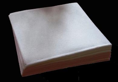 100 Precut Sheets- Machine Embroidery Stabiliser Backing - Tear Away - Medium Weight - 20cm x 20cm - Fits 4x 4 Hoops - 50ml
