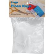 Yarn Tree Large Floss Keys-50/Pkg