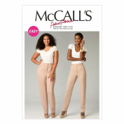 McCall Pattern Company M6901 Misses'/Women's Pants Sewing Template, All Sizes