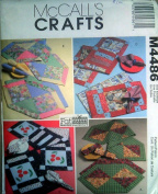 McCall's Crafts M4486 Fat Quarters Runners. Placemats and Napkins