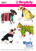 Simplicity Sewing Pattern 3667 Crafts, A