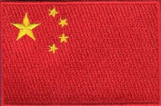 China Embroidered Country Flag Patch