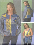 McCall's Chenille Jacket and Tote Sewing Pattern # M4798
