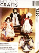 McCall's Crafts Heirloom Dolls Sewing Pattern #7230