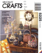 McCall's 5225 Crafts Sewing Springtime Easter Baskets