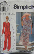 Simplicity 9439 Sewing Pattern ~ Maren Dress Misses' Pantsuit and Two-Piece Dress, Sizes 6, 8, 10