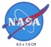 Nasa Space Programme Appliques Hat Cap Polo Backpack Clothing Jacket Shirt DIY Embroidered Iron On / Sew On Patch