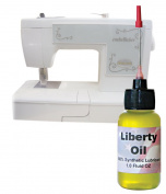 Liberty Oil, the Best 100% Synthetic Oil for Lubricating All of Your Sewing Machines Moving Parts